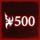 vs Protoss 500.